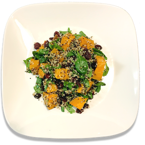 Sweet Potato Quinoa Cranberry Salad [VG]
