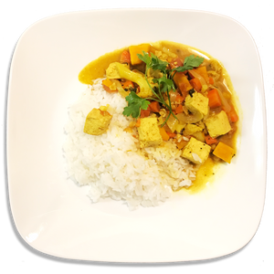 Thai Vegan Curry Tofu (Family Size)