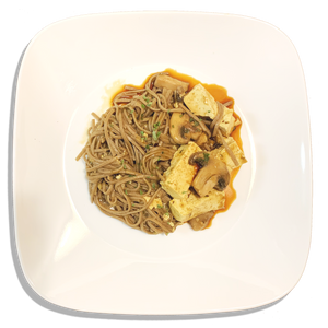 Vegan Curry Soba Noodles and Tofu [VG]