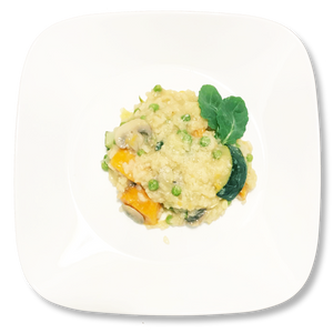 Gourmet Sweet potato and Mushroom Risotto