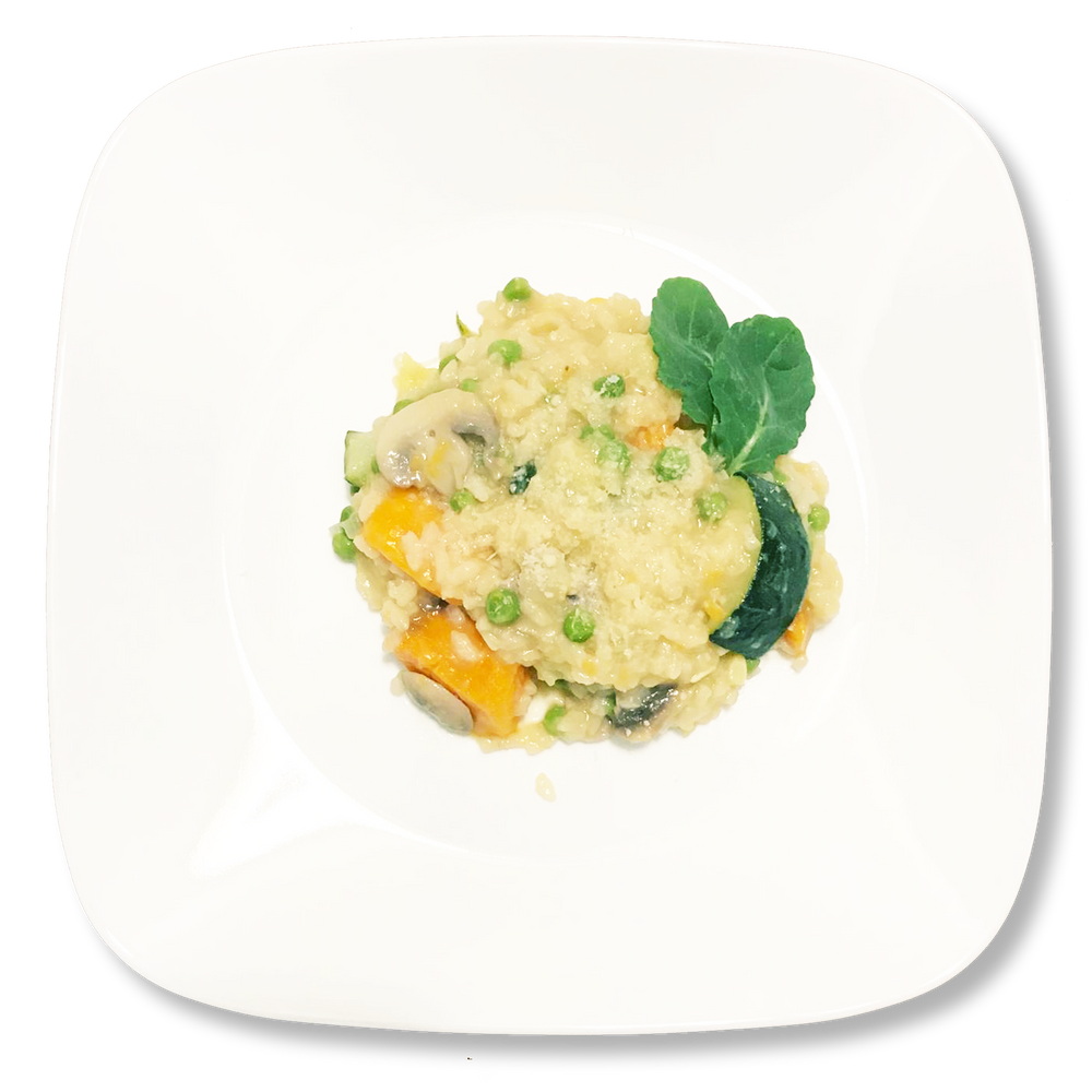 Gourmet Sweet potato and Mushroom Risotto [VT]