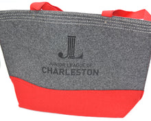 Load image into Gallery viewer, JLC Felt Tote