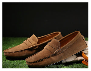 Men's loafers - Latte