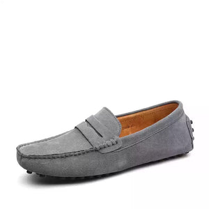 Men's loafers - Grey