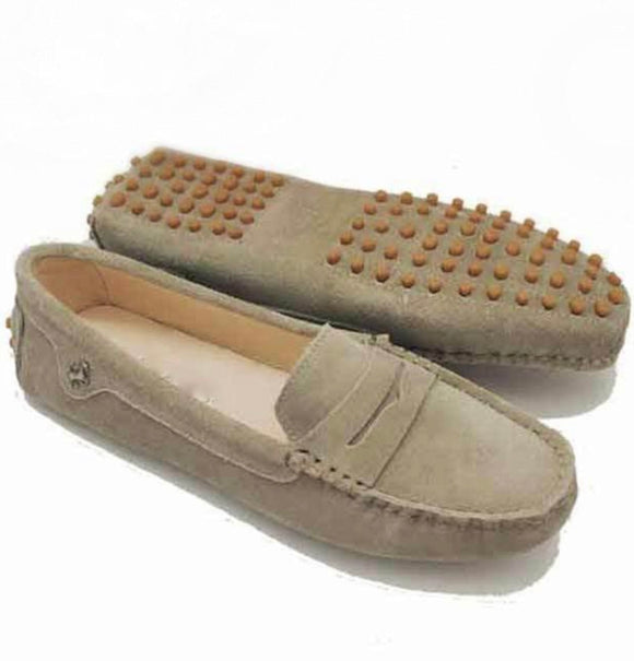 New Ladies Loafer - Taupe