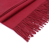Load image into Gallery viewer, Cashmere blend Scarf - Wine