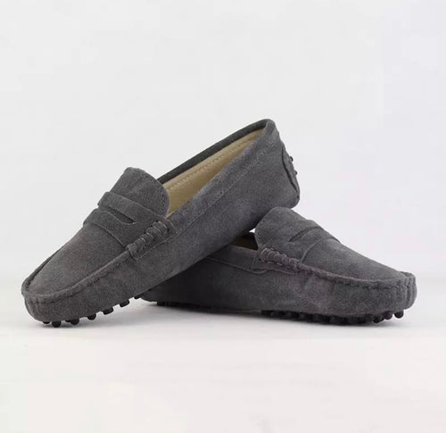 Ladies Loafer - Grey