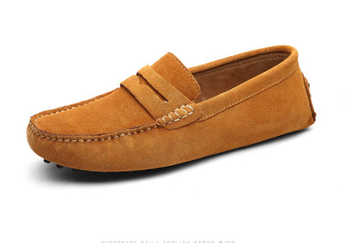 Men's loafers - Sand
