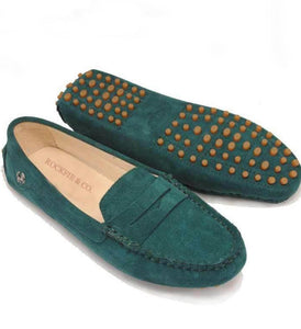 New Ladies Loafer - Forest Green