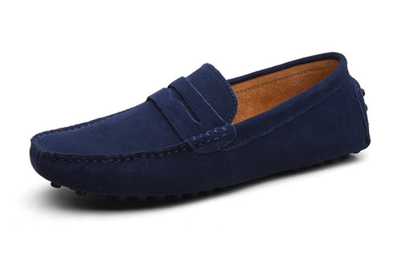 Men's loafers - Navy Blue