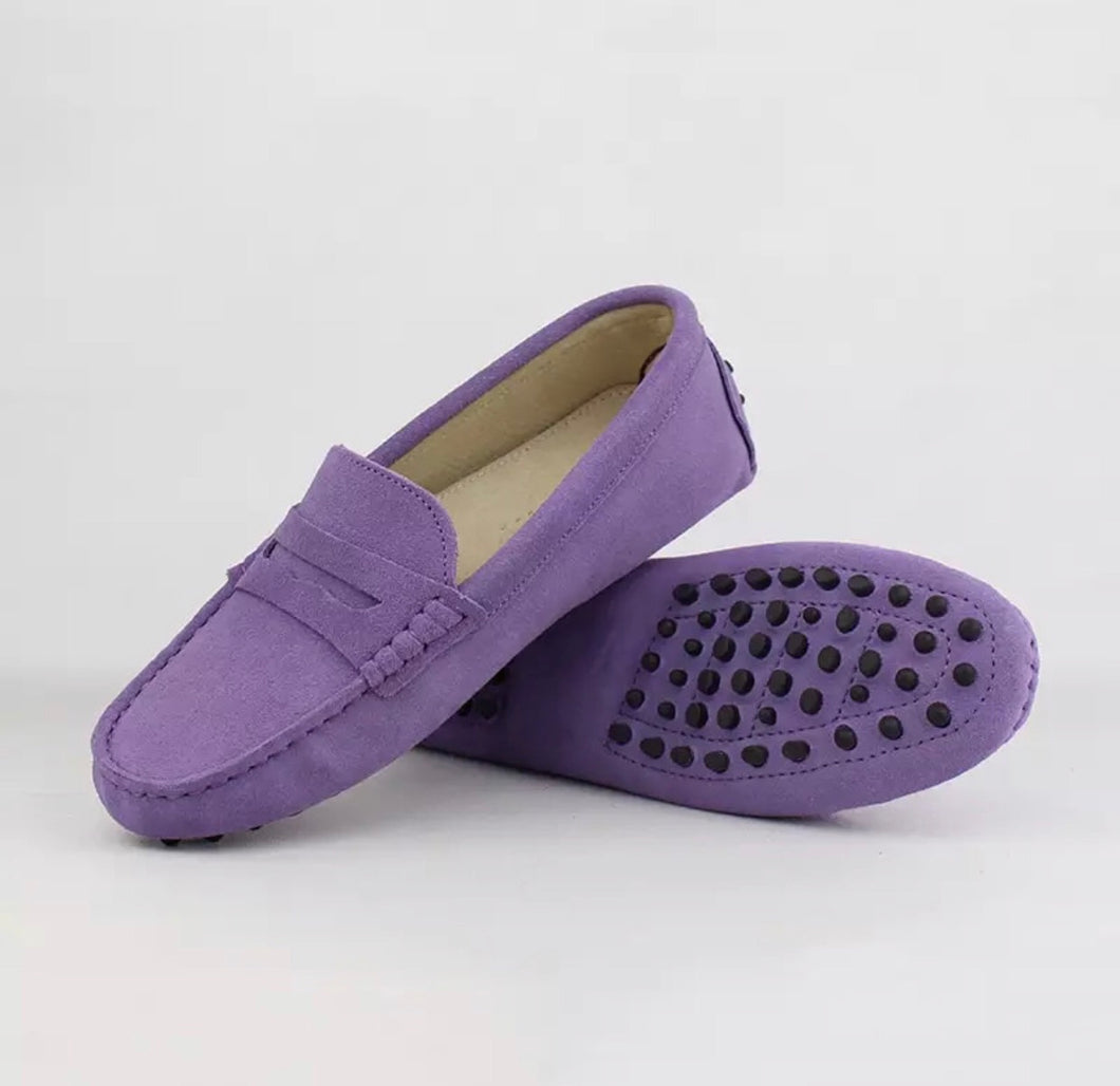 Ladies Loafers - Lilac