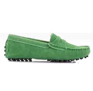 Ladies Loafers - Green