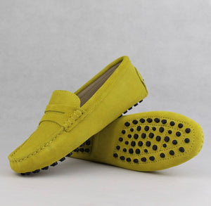 Ladies Loafers - Mustard yellow