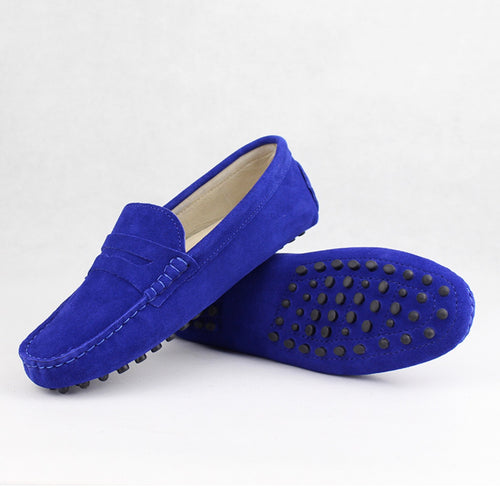 Ladies Loafers - Blue