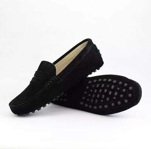 Ladies Loafers - Black