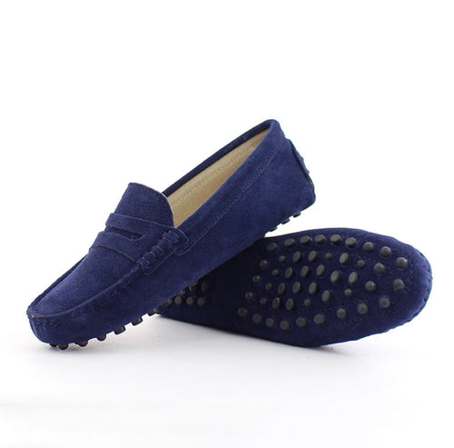 Ladies Loafers - Navy