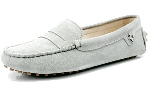 New Ladies Loafer - Light Grey
