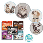Tickless Chemical-Free Pet Accessories for Flea Prevention and Tick Control for Dogs
