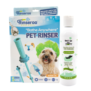 Rinseroo with FREE Hair Softening Shampoo
