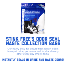 Cat Litter Odor Seal Bag - Smell Proof Kitty Litter Bags. 12 Packs of 21 Odor Seal Waste Remover Litter Bags for Poop & Urine. Cleaning Supplies for Your Litter Box and Pet