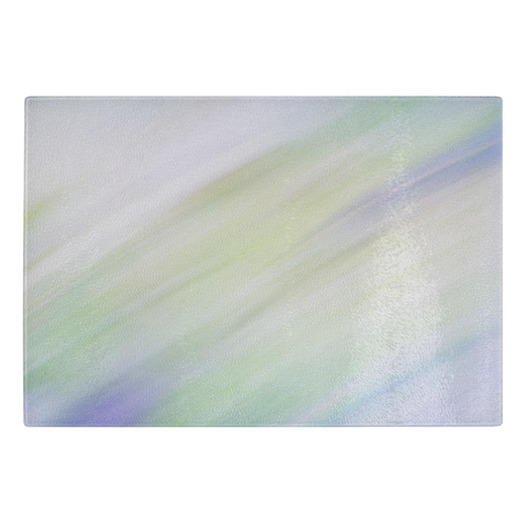 Abstract Photograph Glass Cutting Board