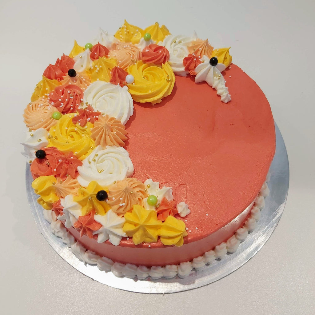 Autumn Celebration Cake