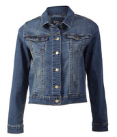 VASSALLI - Vintage Blue Denim Jacket