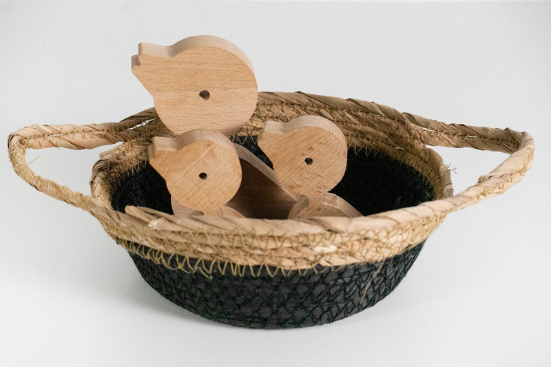 Wooden Bird Set Of 3