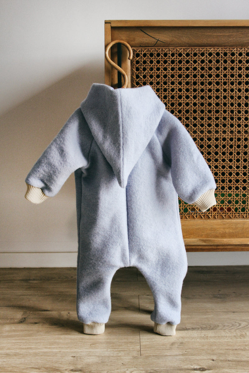 Eldar Boiled Wool Jumpsuit