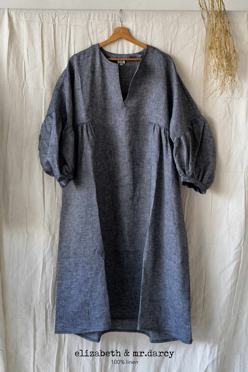 Elizabeth & Mr. Darcy linen dress