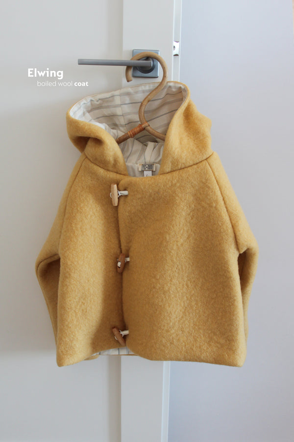 Elwing Boiled Wool Coat