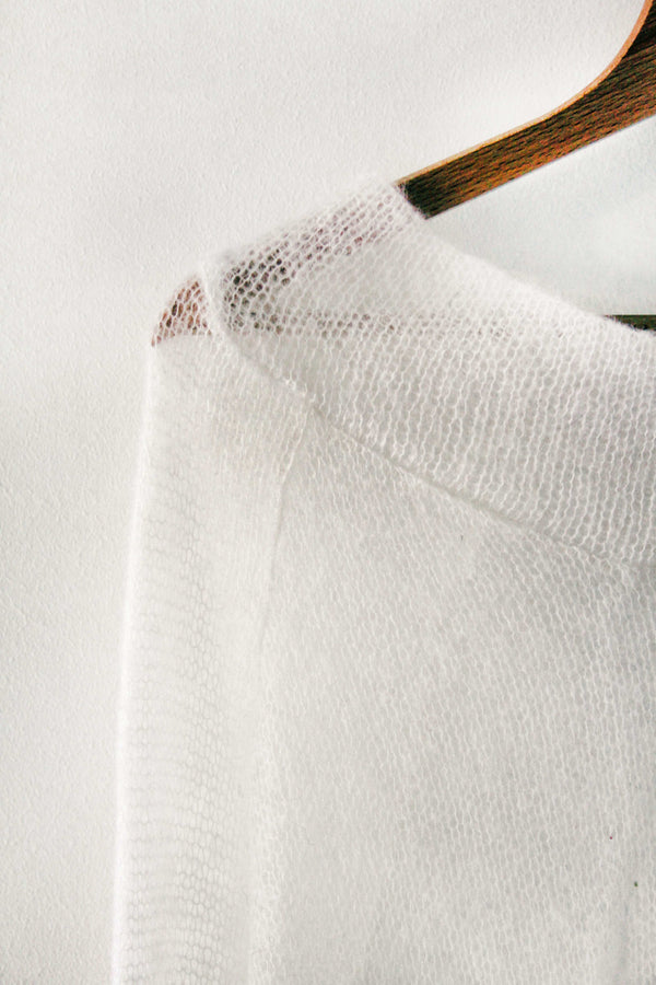 Blinded By The Sun Mohair top