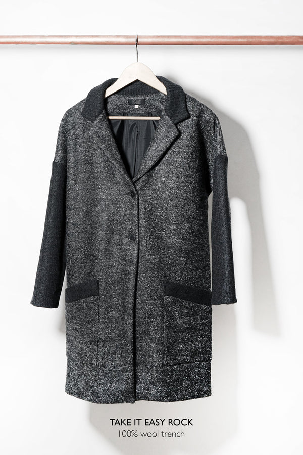 Take It Easy Rock Wool Trench