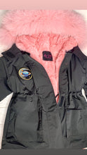 Load image into Gallery viewer, KIDS PARKA X BABY PINK FUR