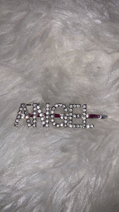 ANGEL - SILVER PIN