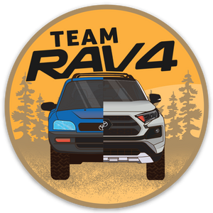RAV4 Adventure Sticker