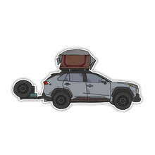 Load image into Gallery viewer, @radventure4 Camp Sticker