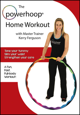 powerhoop home workout DVD