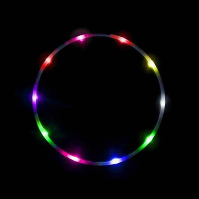 Rainbow 14 LED Light up Hula Hoop
