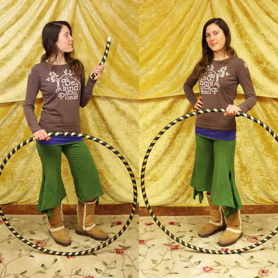 Two in One Exercise Hula Hoop