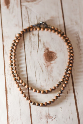 Grain Stone Necklace