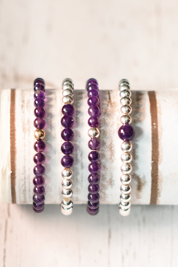 Lustgarten Foundation Amethyst Bracelet Collection