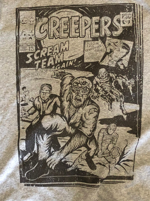 The Scream Team-Creepers VINTAGE WHITE