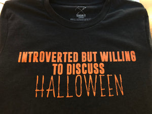 Introverted Halloween Tee