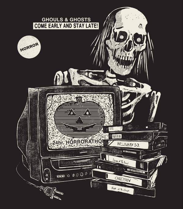 HORRORATHON SKELETON TEE