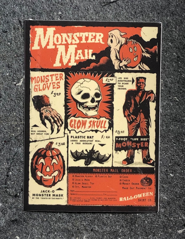 "Monster Mail 4"" Sticker"