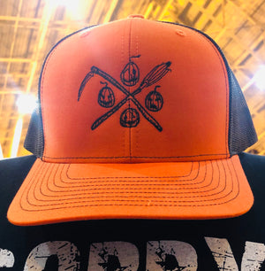 Logo Cap ORANGE/BLACK