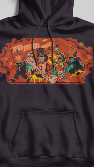 The Happy Halloween Band Hoodie