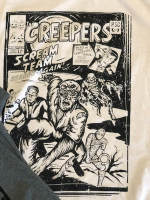 The Scream Team-Creepers GREY