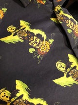 Halloween Character Totem Button Up Shirt